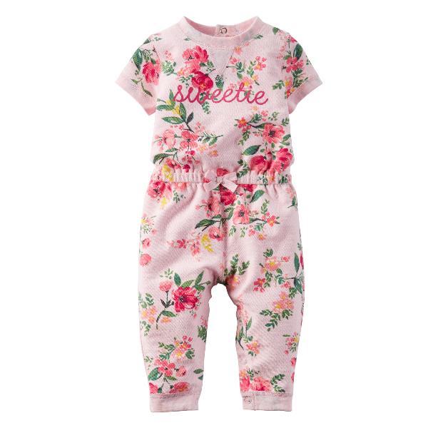 e3adea456 Macacão Verão Florido – Carter´s – Importados Baby e Kids – Loja Virtual