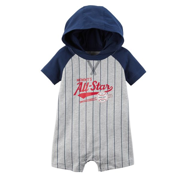 e0870f405d7 Romper Mommy´s All-Star – Carter´s – Importados Baby e Kids – Loja ...